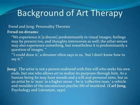 role  art therapy  healing