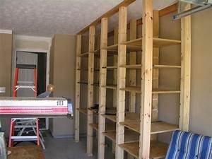 tips on how to build garage shelves location materials With how to make garage shelves