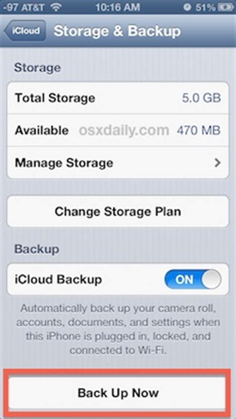 back up iphone to icloud how to backup your iphone