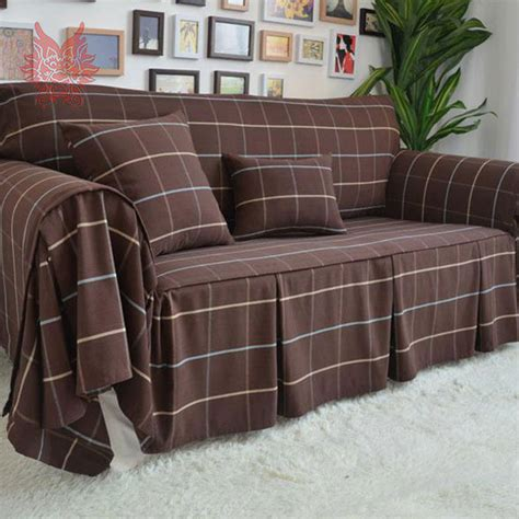 high quality sofa slipcovers home textile high quality poly cotton sofa cover modern