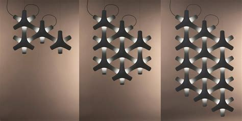 remote controlled modular led lighting system synapse  luceplan