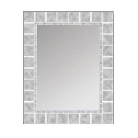 deco mirror      glass block rectangle mirror