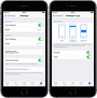Whatsapp Melding Iphone Aanpassen Berichten Je Instellingen