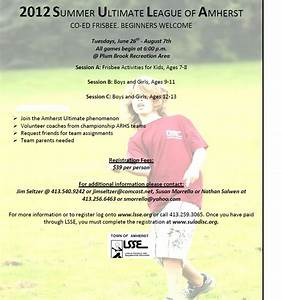 Fort River PGO: Sign up for Summer Ultimate League