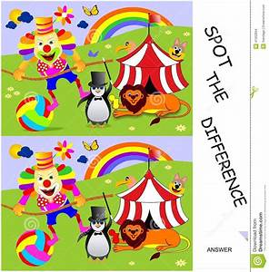 Spot the difference stock vector Illustration of drawings