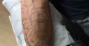 Former Liverpool Fc Star Riise U0026 39 S Champions League  U0026 39 Tattoo
