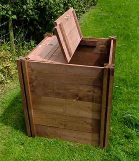 wooden compost bin single compact wooden compost bin 270 litre 2584