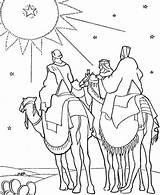 Jesus Birth Coloring Pages Bethlehem Drawing Born Kings Getcolorings Printable Getdrawings sketch template