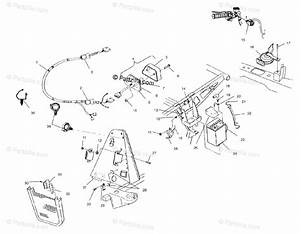 Polaris Atv 2000 Oem Parts Diagram For Electrical  Taillight