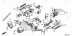 Honda Motorcycle 2020 Oem Parts Diagram For Engine Cover