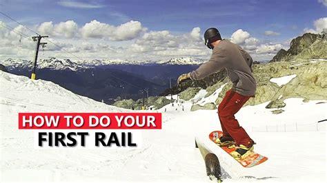 tricks snowboard rail snowboarding list skiing