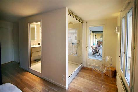 chambre d architecte architecture intérieure réunion de deux appartement en un