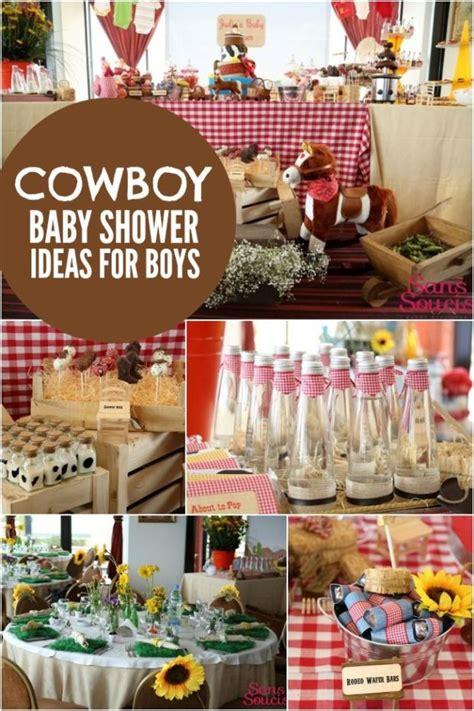 bouncing baby buckaroo cowboy themed baby shower