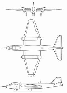 B 57 Canberra Diagram