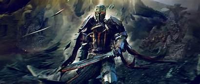 Crusader Dark 4k Knight Fantasy Wallpapers Ultra