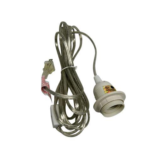 single socket pendant light cord kit for lanterns 11ft