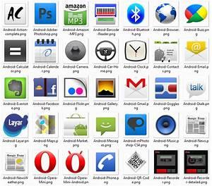 Android Smartphone Symbols