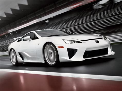 Lexus Lfa Official Images And Specs