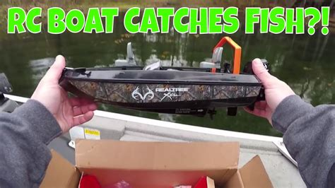 Rc Boats Catching Fish by Rc Boat Catches Fish Fishing Challenge