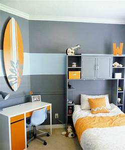 idee deco chambre ado mixte chaioscom With idee peinture chambre ado