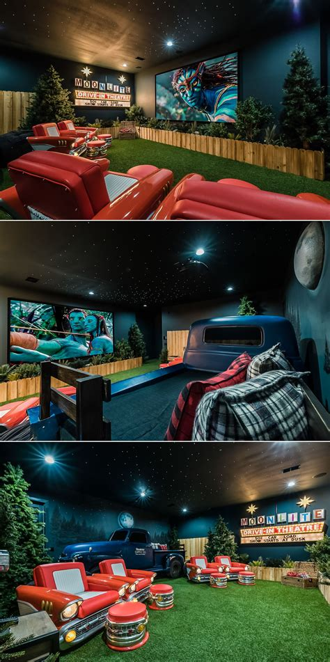 awesome drive  themed home theater   orlando