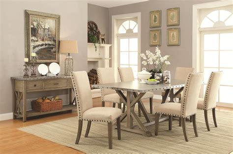 dallas designer furniture webber rustic driftwood dining
