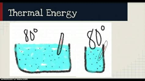 Heat, thermal energy, and temperature video - YouTube