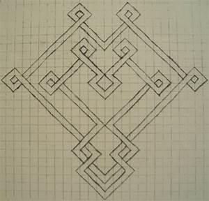 Celtic Graph Paper Heart by tattoofuzzy on DeviantArt