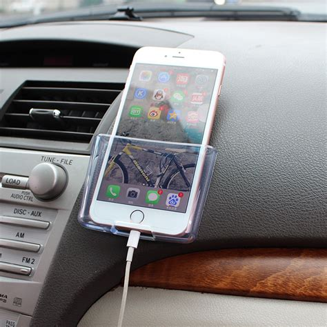 car cell phone holder universal car cell phone holder black mobile phone charge
