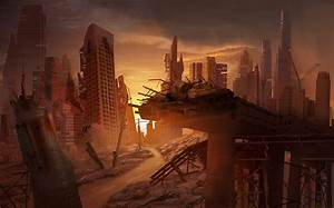 Abandoned City, Matte Painting by MarcoBucci on DeviantArt