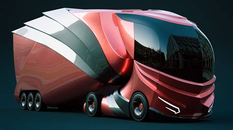 awesome looking future truck concept youtube
