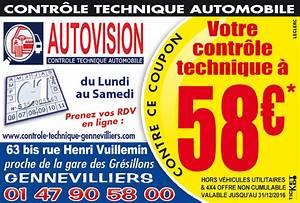 Controle Technique Rueil Malmaison : bon de r duction autovision gennevilliers 92230 bon de r duction contr le technique ~ Medecine-chirurgie-esthetiques.com Avis de Voitures