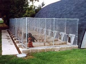 Dog kennel run photo 00 dog stuff pinterest dog for Dog kennel systems