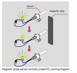 Elevator Sensor Elevator Magnetic Floor Switch No  Nc Door