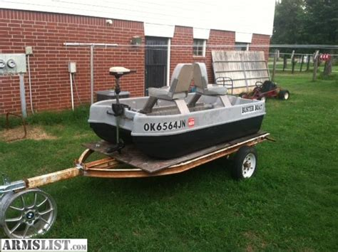 8ft Boat by Armslist For Sale Trade 1990 Buster Boat 8ft