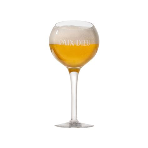 verre a bierre paix dieu verre a biere 25 cl