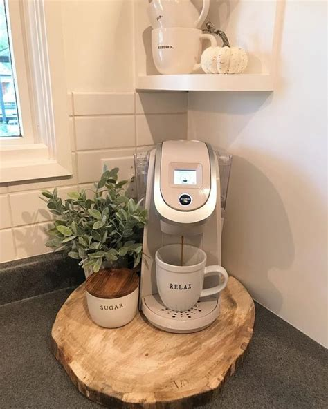 Create a cozy coffee bar at home to enjoy your blissful morning cup of joe. 12 Creative Coffee Bar Ideas For The Kitchen Counter - Home Coffee Bar Ideas - Decorating Ideas ...