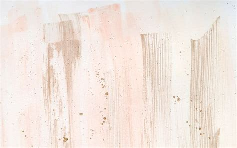 desktop wallpaper watercolour coral blush gold brushstroke desktop wallpaper background