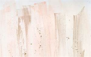 Watercolour coral blush gold brushstroke desktop wallpaper ...