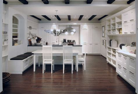 cuisine avec parquet déco cuisine avec parquet exemples d 39 aménagements