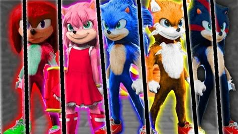 sonic   character designs sonic tails amy
