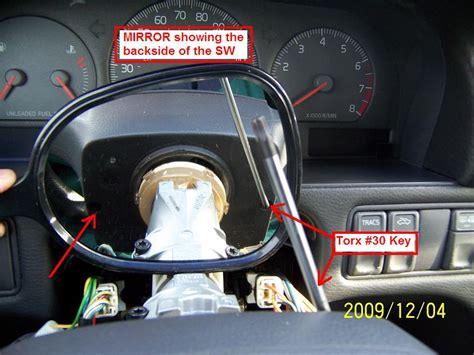 diy  volvo  replacing clockspring airbaghorn