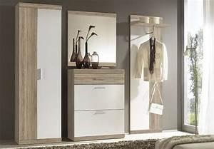 Garderobe 60 Cm Breit : garderobenschrank imperial 2 flur schrank in eiche sonoma und wei 60 cm breit ebay ~ Watch28wear.com Haus und Dekorationen