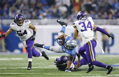 minnesota vikings  detroit lions winners  losers
