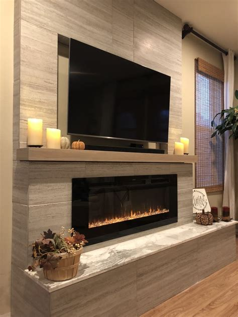 Fireplace With Tv Above by Best 25 Tv Above Fireplace Ideas On Tv Above
