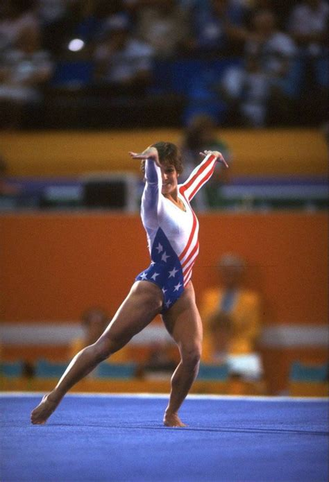 lou retton olympic floor routine retton usa gymnastics floor flacco