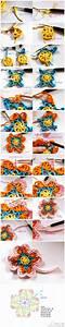 Crochet Flower - Chart 4U // hf | crochet puntas ...