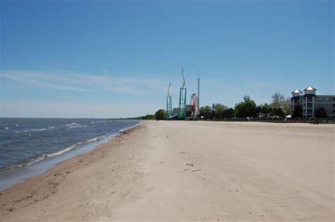 The Cedar Point Beach In Sandusky Ohio