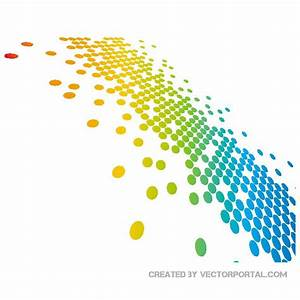 COLORFUL DOTS BACKGROUND VECTOR - Download at Vectorportal