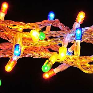 Guirlande De Photo : guirlande lumineuse 50 lucioles 2 50m multicolore ~ Teatrodelosmanantiales.com Idées de Décoration